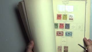 Australian Stamps -  1913-1969 All Different Stamp Collection
