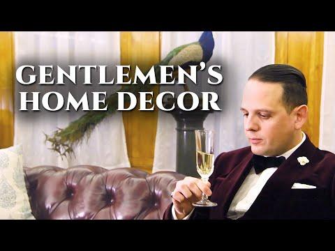 11 Interior Design Classics - Gentlemen's Home Decor