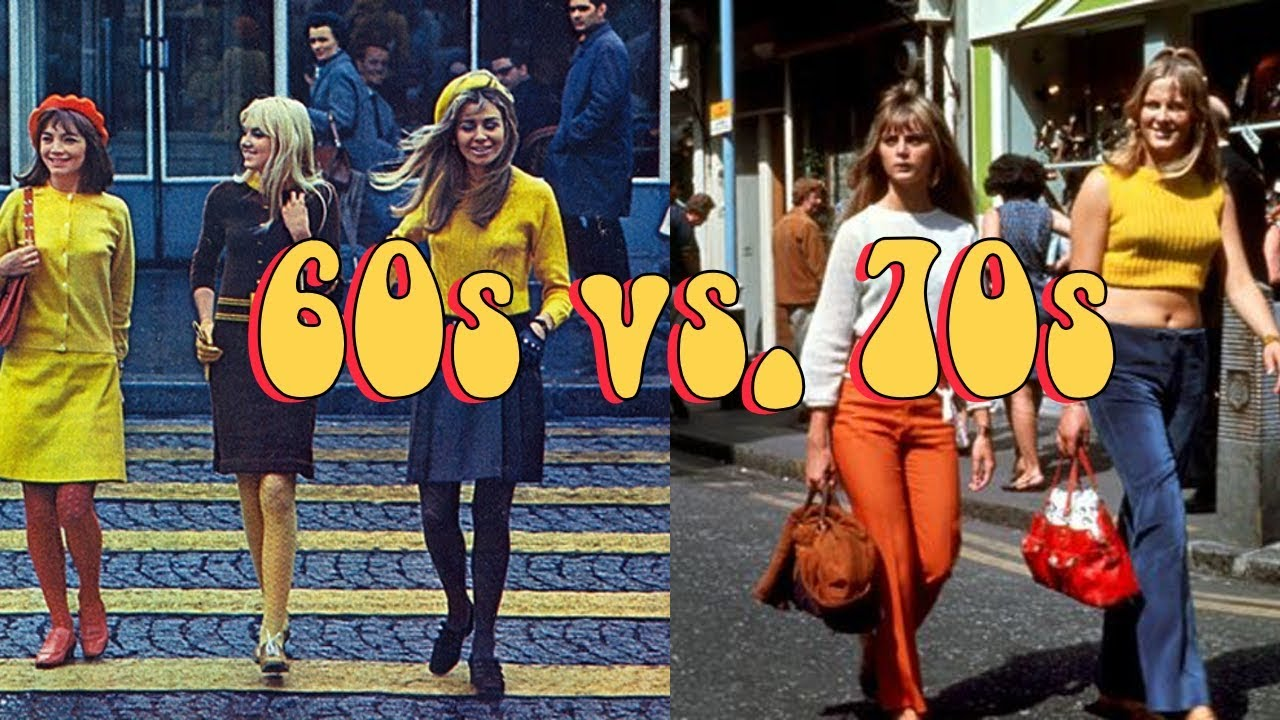 Fashion of 60s and 70s
