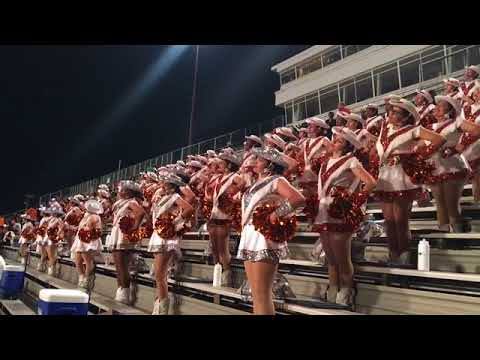 W T White High School Band Caballeras 2017 Game 4