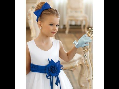 Модные детский платья на выпускной в детском саду 2015