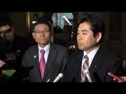 """山井「総理夫人と総理は事実上一体。つまり、事実上安倍総理""""本人""""が口利きに関わっていたのではないかとの疑いが深まった」"""