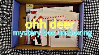 Ohh Deer / Mystery box umboxing | La Ames