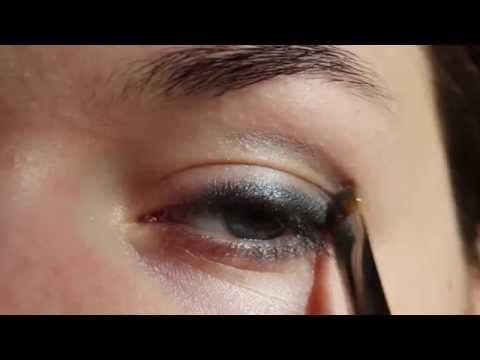Легкий макияж глаз для нависшего века