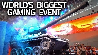 Exploring the World's Largest Gaming Event!