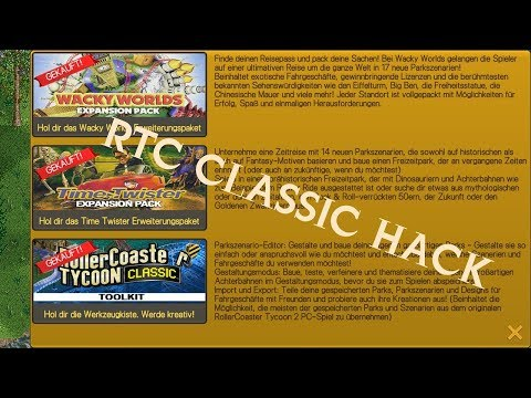 Roller Coaster Tycoon Classic Unlocked (+Download) | RCT Classic APK+MOD (updated Version)