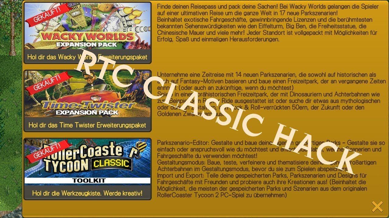 download rollercoaster tycoon 2 mod apk