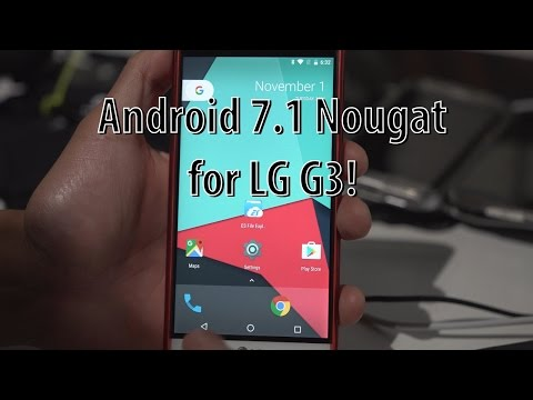 Android 7.1 Nougat for LG G3! [CrDroid ROM]