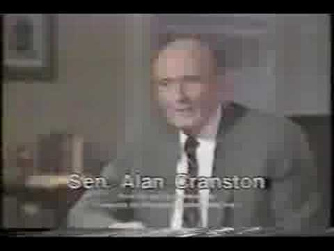 Alan Cranston 1984 TV Ad