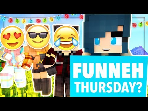 WE CAN'T STOP LAUGHING! LOOK AT ALL THOSE FAILS!! Minecraft LIVE!