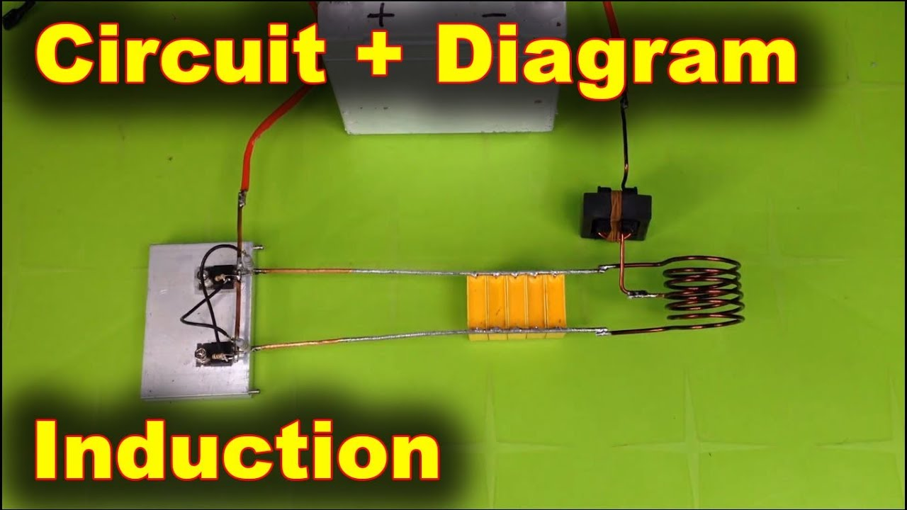 Homemade Induction Heater 12 Volts Youtube Heating Vacuum Tube Schematics Get Free Image