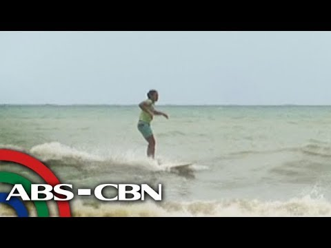 Sports U: Surfing in Real, Quezon