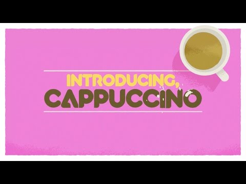 Animography Cappuccino Animated Typeface