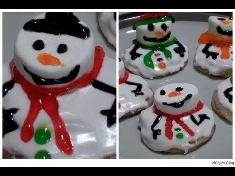 Diy Melting Snowman Sugar Co Es
