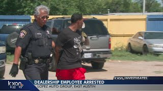Risky rides: East Austin dealership facing complaints busted again