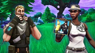 I used RECON EXPERT in RANDOM DUOS and that happened. (Fortnite)