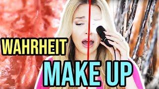 Make Up ROUTINE unterm MIKROSKOP 1000x größer 😱 Geschminkt vs Ungeschminkt | XLAETA