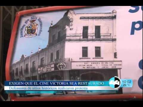 EXIGEN QUE EL CINE VICTORIA SEA RESTAURADO