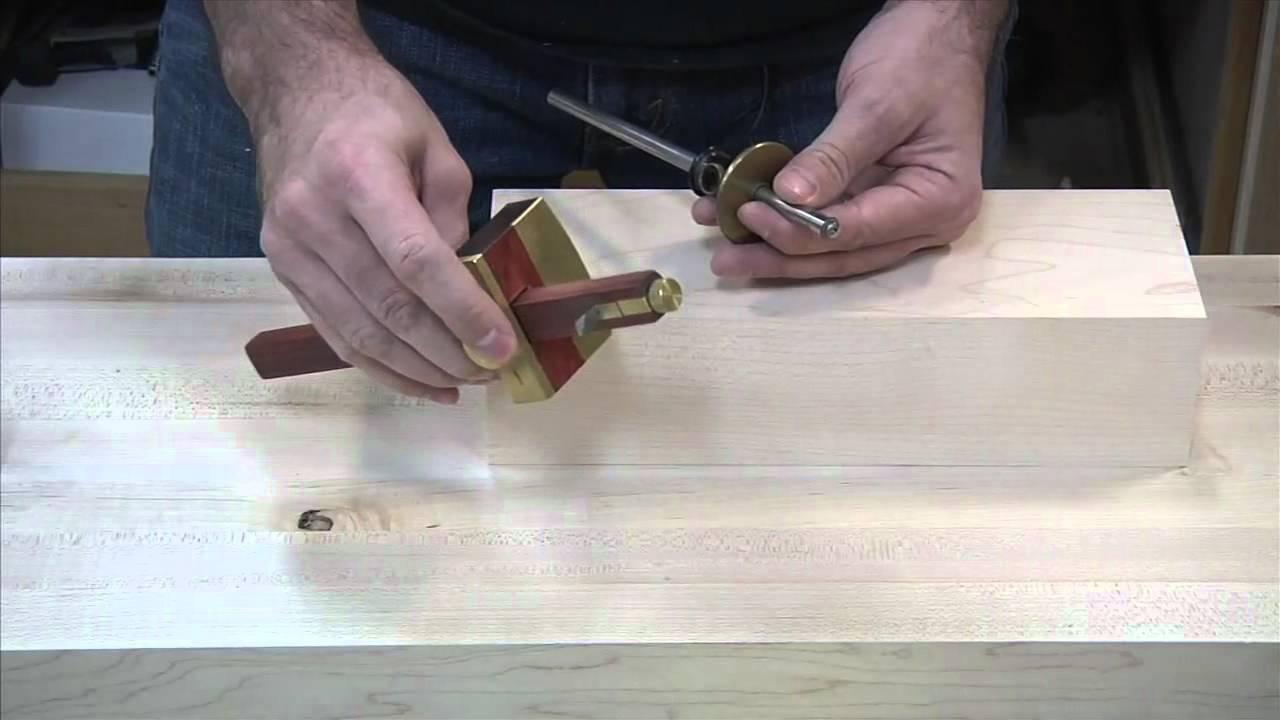 164 Marking Gauges The Wood Whisperer