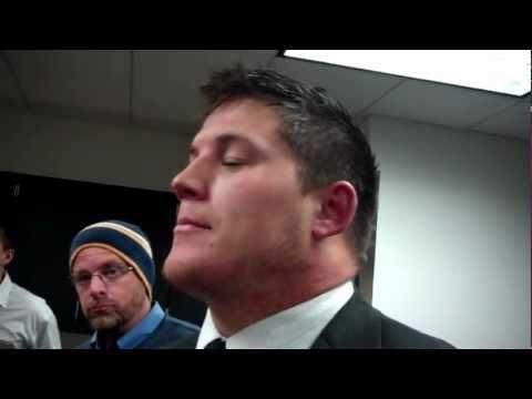 James Ferentz, Penn State Postgame (1/3) 10-20-12