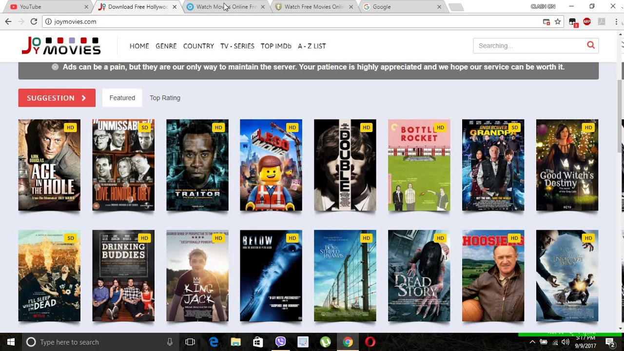 BEST Sites to Watch Movies Online for Free (2016/2017) A ...