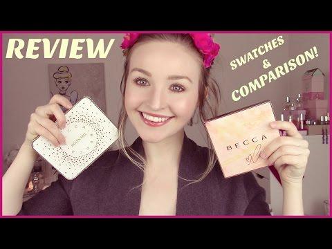 Becca x Chrissy Teigen Glow Face Palette • Review, Swatches, & Comparison!