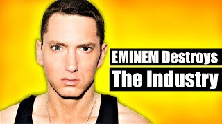 EMINEM Destroys Mumble Rap & Critics [Every Diss On Kamikaze]