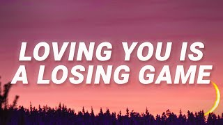 Duncan Laurence - Loving You Is A Losing Game (Arcade) (Lyrics)