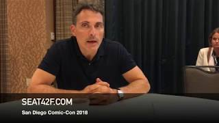 Rufus Sewell THE MAN IN THE HIGH CASTLE Comic Con Interview