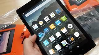 شرح عن Fire HD 8 من شركة Amazon