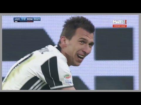 Mario Mandzukic vs Roma (Home) 17/12/2016 | HD