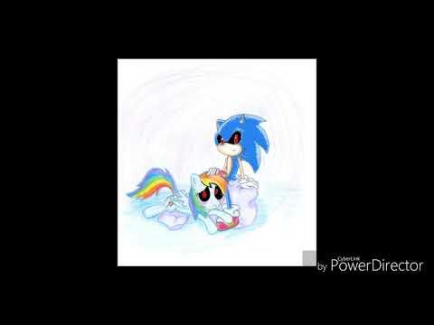 Sonic.exe Y Rainbow Dash.exe Mejores Amigos (bad Boy)