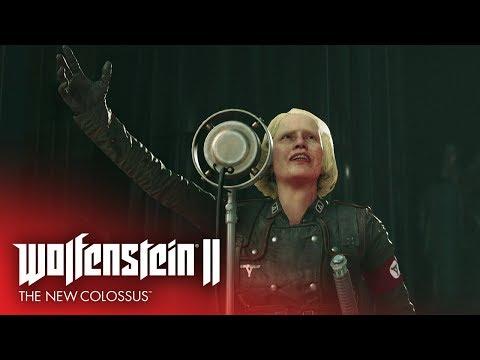 Wolfenstein II: The New Colossus - трейлер к выходу игры