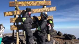 BEST WEDDING PROPOSAL on top of Mount Kilimanjaro