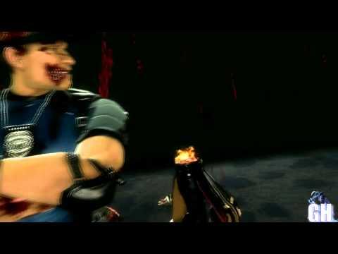 Mortal Kombat 9 Stryker Second & Secret Fatality