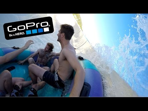 GoPro: Gold Coast Queensland 2015, Dreamworld, Wet and Wild, White Water World