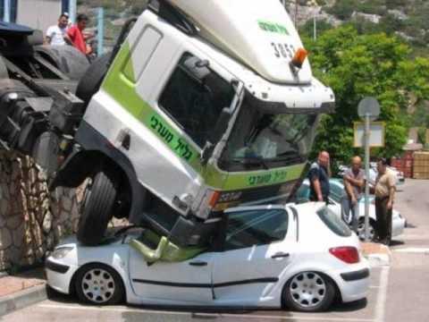 verückte Autounfälle - YouTube