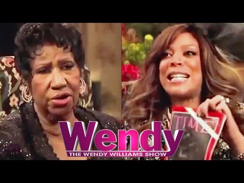 Wendy Williams & Aretha Franklin Interview - Shady Moments