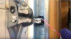 How to lubricate Garage Door safely & correctly!