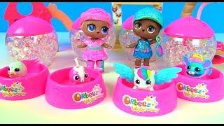 Куклы Лол Мультик! Доктор Барби назначает Ванны с Орбиз и питомцами для Лол LOL SURPRISE