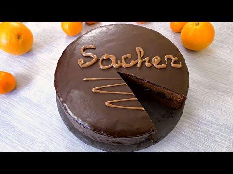 "ТОРТ ""ЗАХЕР"" (ЗНАМЕНИТАЯ ВЕНСКАЯ ВЫПЕЧКА!) ☆ Sacher Torte Chocolate Cake ☆ Марьяна"