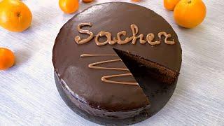 "✧ ЗНАМЕНИТЫЙ ВЕНСКИЙ ТОРТ ""ЗАХЕР"" ✧ Sacher Torte Chocolate Cake ✧ Марьяна"