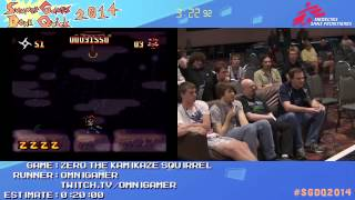 Summer Games Done Quick 2014 - Part 81 - Zero The Kamikaze Squirrel