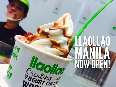 Llaollao Natural Frozen Yoghurt Manila Philippines Now Open!  by HourPhilippines.com