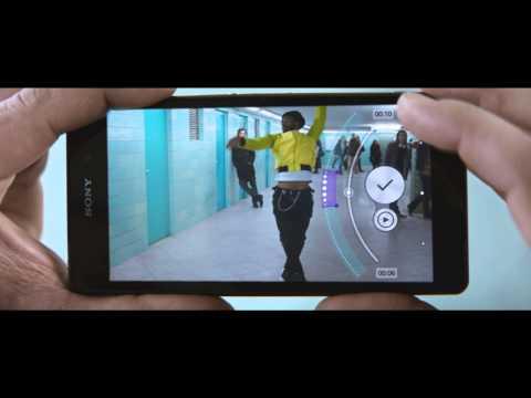 Xperia Z2 ile profesyonel videolar çekebilirsiniz.