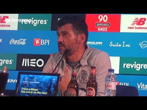 Sérgio Conceição compara José Sá com Mile Svilar