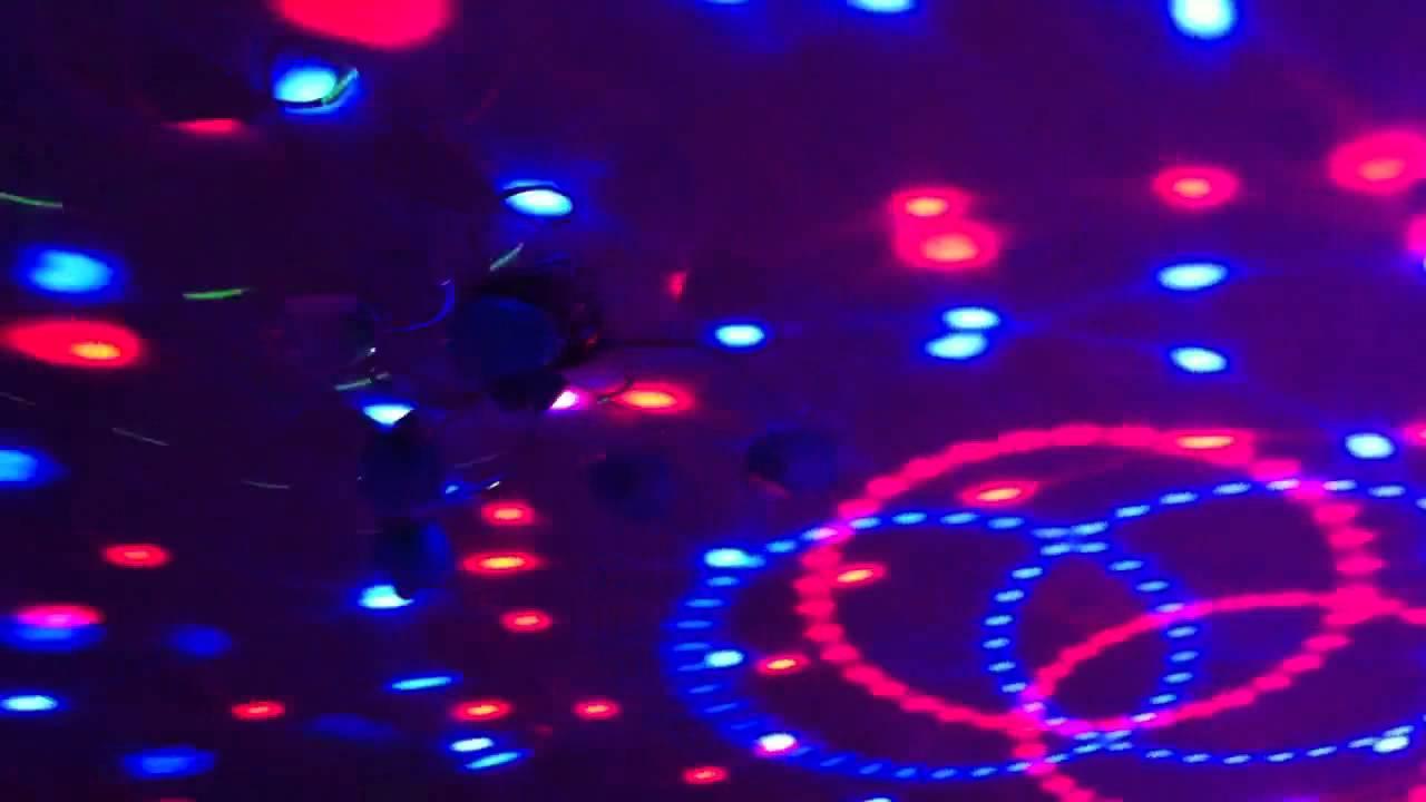 Светодиодный диско шар Led Magic Ball с флешкой светомузыка - YouTube