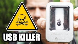 Vicdansız Alet: Takıldığı Çoğu Aleti Yakan USB Killer İncelemesi (Saniyeler İçerisinde Bumm)