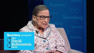 Justice Ruth Bader Ginsburg on The David Rubenstein Show (Part 2)