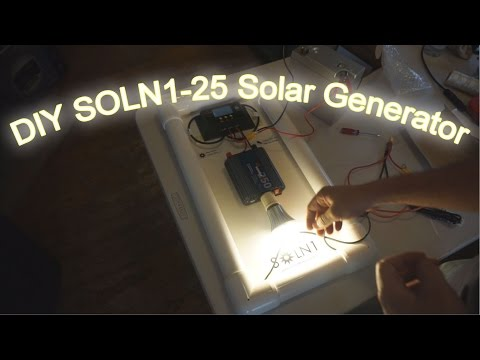 DIY Solar Generator SOLN1-25 - How To Build